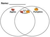 Pumpkins vs Apples Venn Diagram