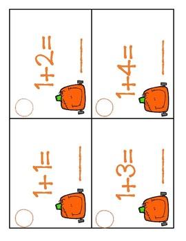 Pumpkinstein Number Line