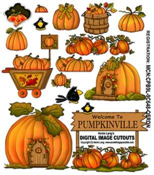 Pumpkinville Clipart