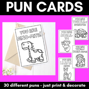 Pun Cards- any occasion
