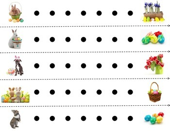 Punch A Bunch: Easter, Fine Motor