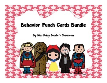 Behavior Punch Card Bundle