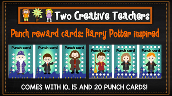 Punch Card - Harry Potter Theme