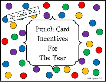 Punch Card Incentives for the Year with QR Codes