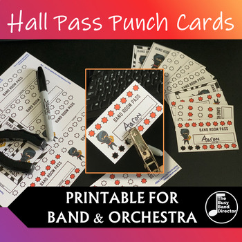 Punch Card Passes: Band & Orchestra