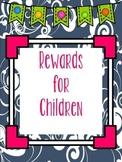 Punch Card Rewards for Children