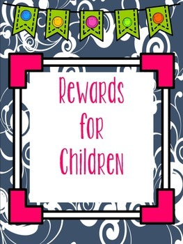 Punch Card Rewards for Children