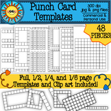 Punch Card Templates and Clip Art