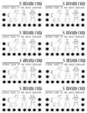 Punch Cards (Cowboy/Western Theme)