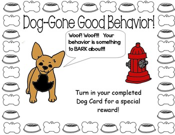 Punch Cards (Dog Show Themed)