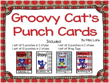 Punch Cards: Groovy Cat!