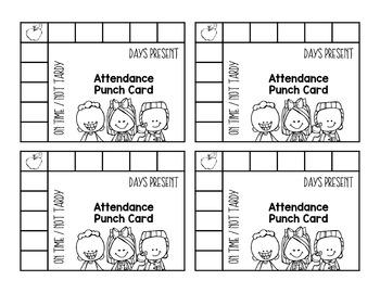 Punch Cards {Growing Bundle}