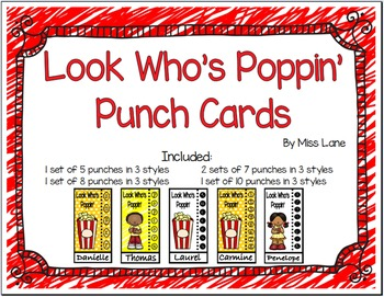 Punch Cards: Look Who's Poppin'!