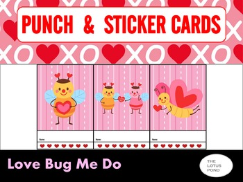 Punch Cards : Love Bug Me Do