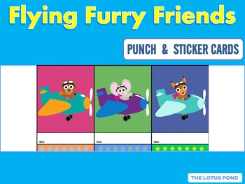 Punch Cards : Flying Furry Friends