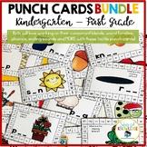 Punch Cards Phonics  Bundle Consonant Blends Ending Sounds