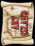 Art Island Title Poster (Pirate/Nautical theme)