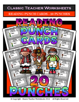 Punch Cards - Reading Punch Cards (Year-Round) - 20 Punches