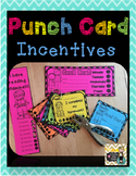 Punch Cards *Reading Stamina, Homework, Centers