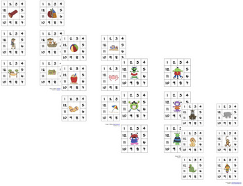 Punch Cards, Set of all 4 themes
