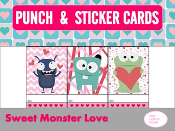 Punch Cards : Sweet Monster Love