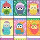 Punch Cards : Winter - Owl Cuties
