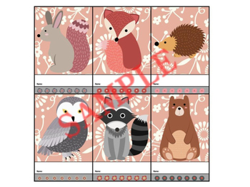 Punch Cards : Woodland Serenity