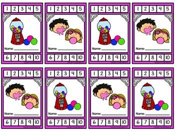 Punch Cards for Positive Behavior, Rewards, or Incentives {140 Cards}