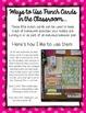Punch Cards for Tracking Homework / Behavior Reinforcement / Rewards