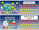 Punch Challenge Cards - Space