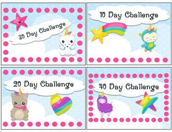 Punch Challenge Cards - Wanna Be Unicorn!
