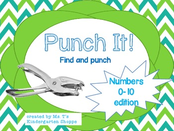 Punch It! Numbers 0-10