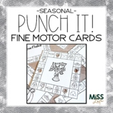 Punch It! Seasonal Fine Motor Cards