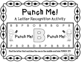 Punch Me! A Letter recognition Activity