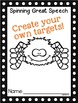Punch N' Lace Speech Targets {lacing fine motor punch fun} Spider Web Craft