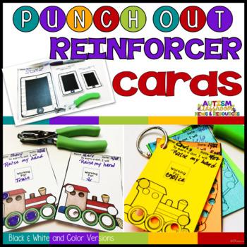 Punch-Out Reinforcement Cards for Behavior Management