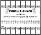 Punch-a-Bunch: Addition Facts to 20
