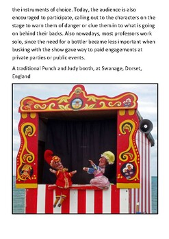 Punch and Judy Handout