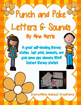 Punch and Poke Letters and Sounds