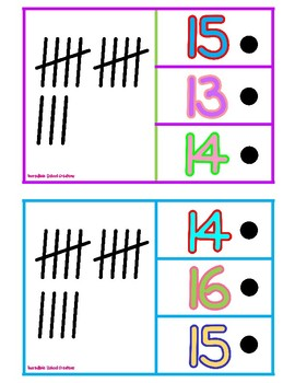Punch and Poke Numbers and Tallies
