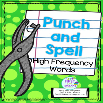 Punch and Spell High Frequency Words