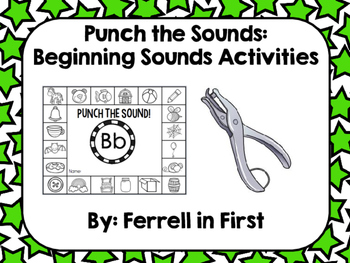 Punch the Sounds: Beginning Sounds Activities