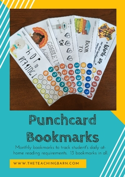 Punchcard Bookmark