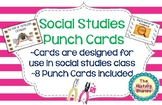 Punch Cards for the Social Studies Classroom