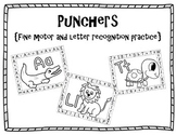Punchers {A fine motor and Letter Identification Activity}