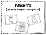 Punchers {A fine motor and Medial Sounds Activity}
