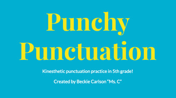 Punchy Punctuation