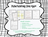 Punctuating Dialogue Bundle
