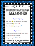 Punctuating Dialogue {Posters & Worksheets}