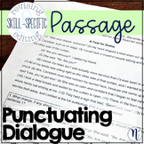 Punctuating Dialogue: Skill-Specific Revising and Editing Passage